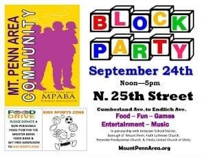 Mount Penn Area Community Block Party